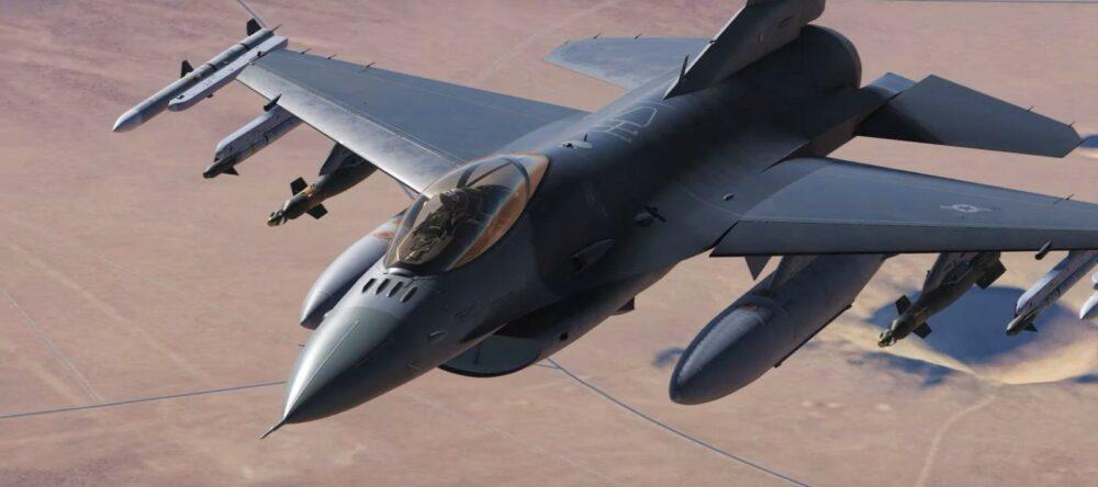 Трейлер симулятора DCS про F-16C Viper