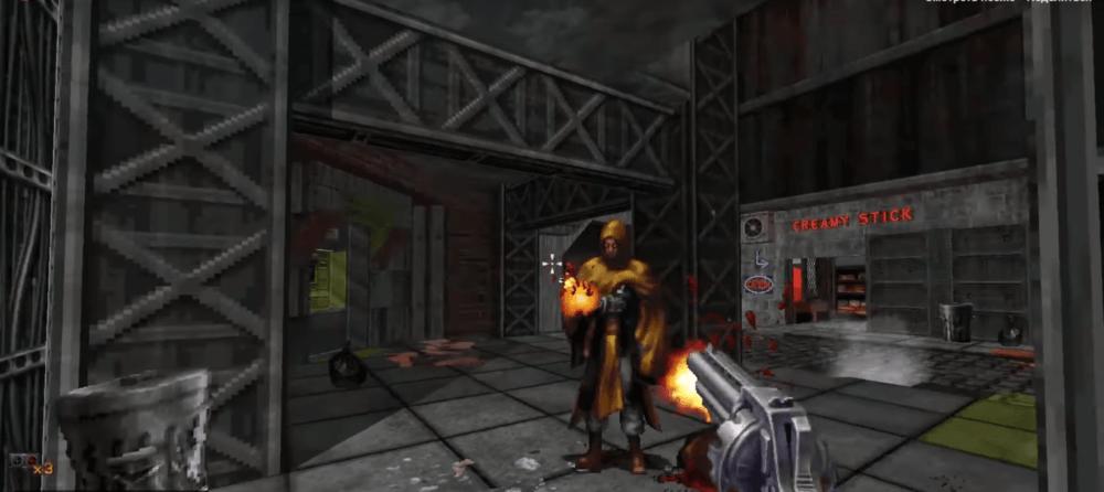 Геймплей олдового шутера Ion Fury