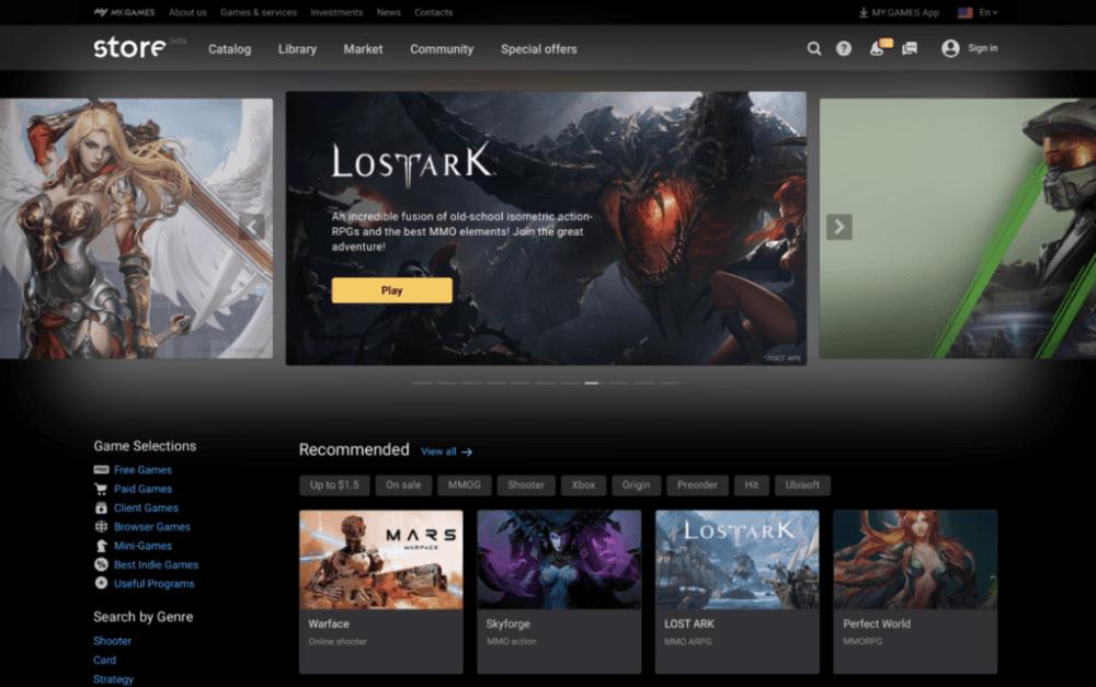 Mail.ru готовят свой магазин игр для PC
