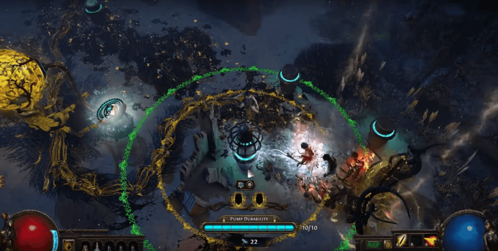 В Path of Exile появляется режим Tower Defense (Трейлер)