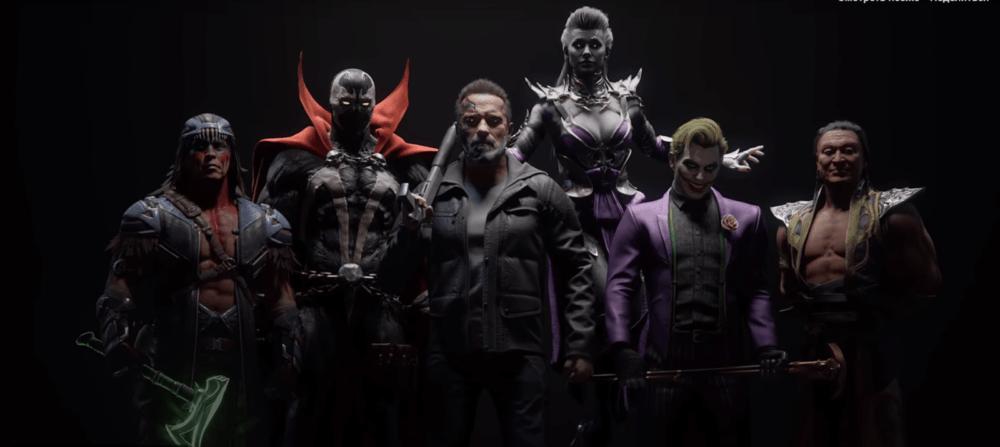 Показаны новые бойцы Mortal Kombat 11