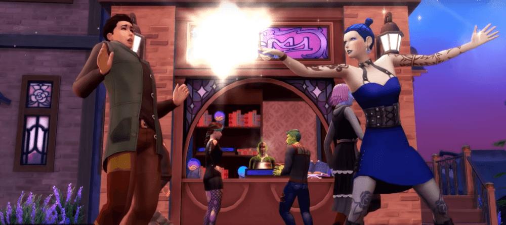 Магия и возможность колдовать появятся в The Sims 4 с дополнением Realm of Magic