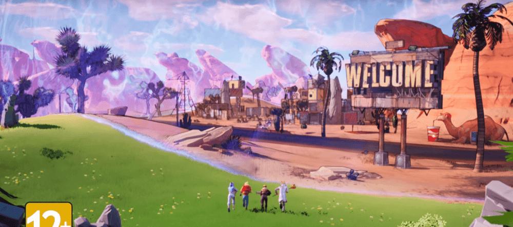 В Fortnite появилась локация из Borderlands 3
