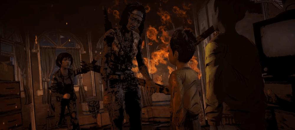Все четыре сезона The Walking Dead: The Telltale Definitive Series в одном ролике