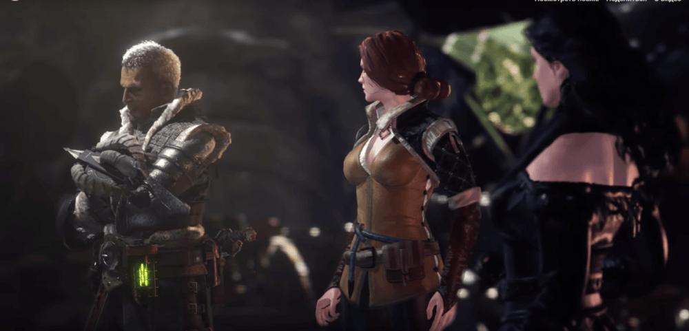 """В Monster Hunter: World можно поиграть за Трисс и Йеннифер из """"Ведьмака 3"""""""