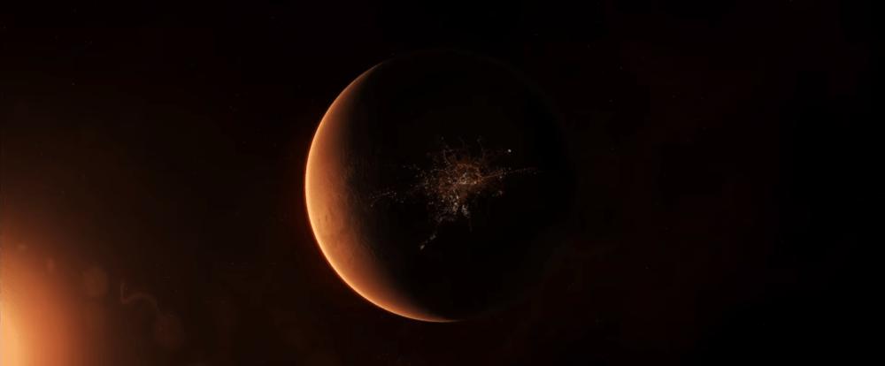 Преобразование планет солнечной системы в трейлере TerraGenesis