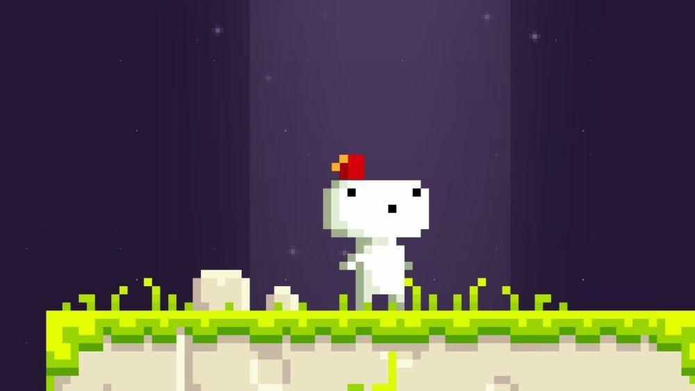 Fez можно забрать бесплатно в Epic Games Store!