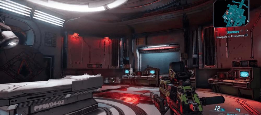 """Новый геймплейный ролик Borderlands 3 с кораблем """"городом"""""""