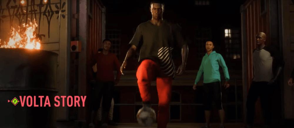 Уличный футбол в новом трейлере FIFA 20