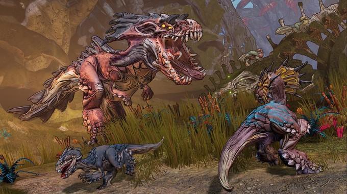 Свежие скриншоты Borderlands 3 с животными Эден-6