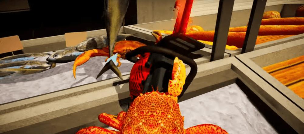 Эпичные битвы крабов в трейлере Fight Crab