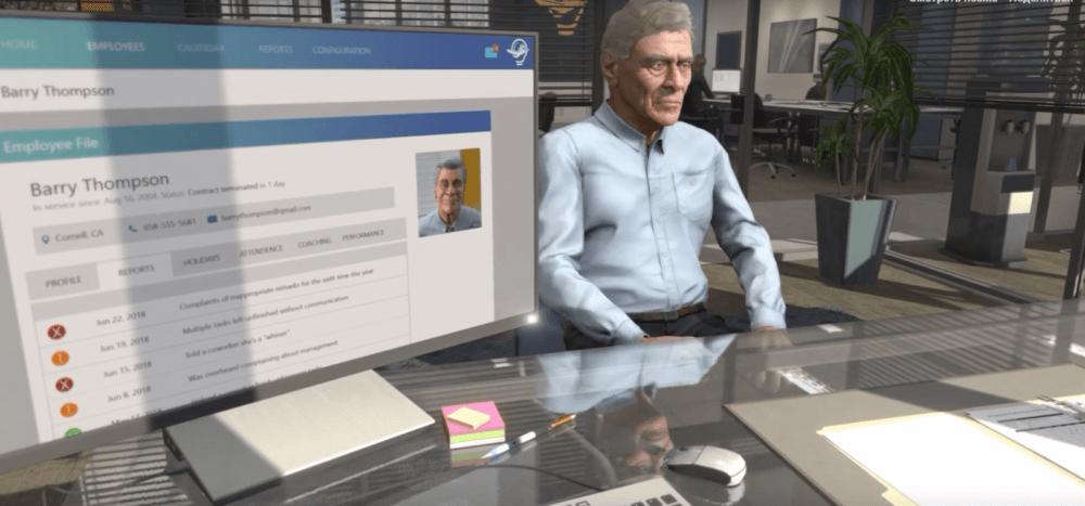 Не знаешь как уволить сотрудника? Новый VR- симулятор от Talespin для тебя