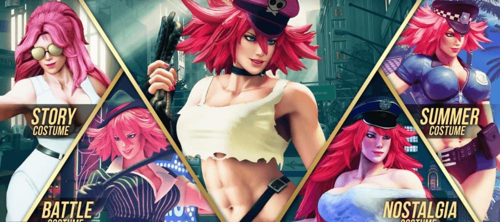 В Street Fighter V появятся новые бойцы