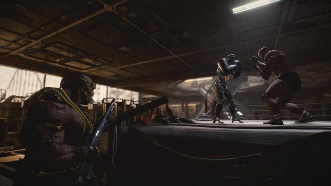 Геймплейные скриншоты Cyberpunk 2077