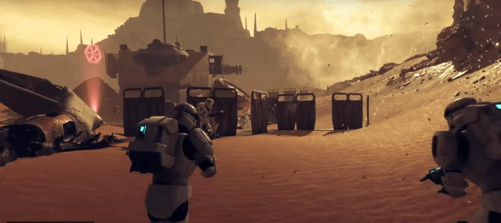 Трейлер обновления Star Wars Battlefront 2