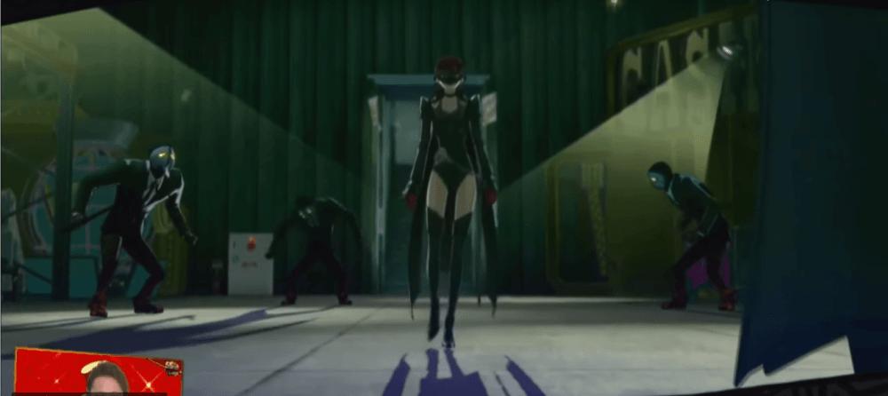 Первые минуты геймплея Persona 5
