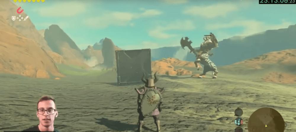 Как пройти The Legend of Zelda: Breath of the Wild только с щитом
