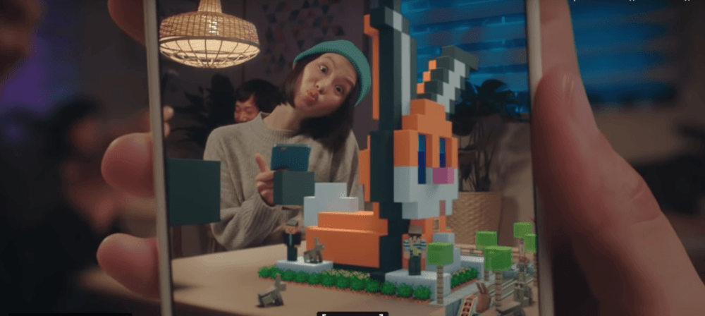 AR Minecraft Earth будет доступна в октябре в раннем доступе