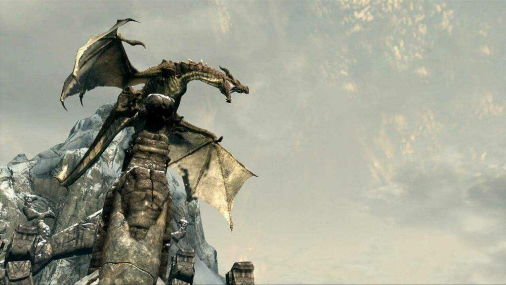 Драконы в Skyrim теперь могут разговаривать