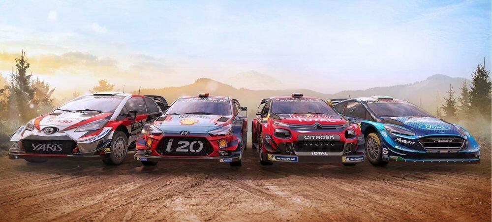 Релизный трейлер гоночного симулятора WRC 8