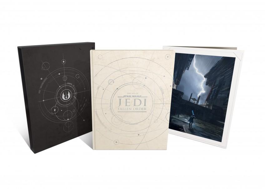 Артбук в стиле Star Wars Jedi: Fallen Order заказывали?