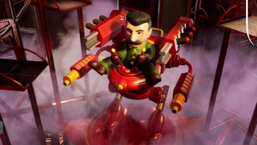 Stalin vs. Martians 4 теперь можно опробовать бесплатно
