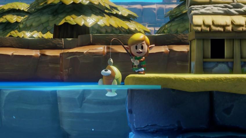 Вышел новый обзорный трейлер The Legend of Zelda: Link's Awakening