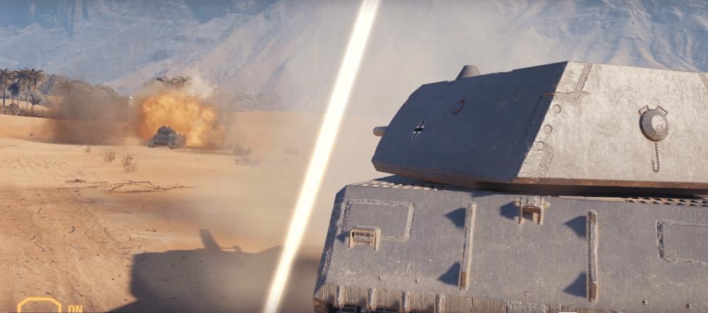Как выглядит трассировка лучей в World of Tanks