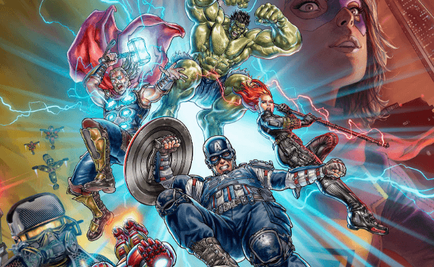 Специальный арт Marvel's Avengers от художника студии