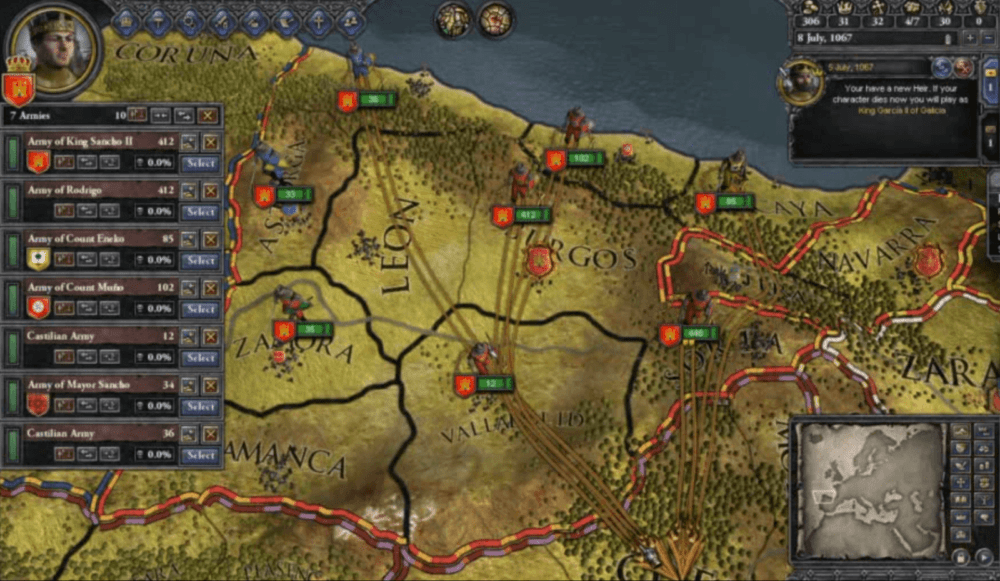 Crusader Kings 2 бесплатно можно забрать в Steam