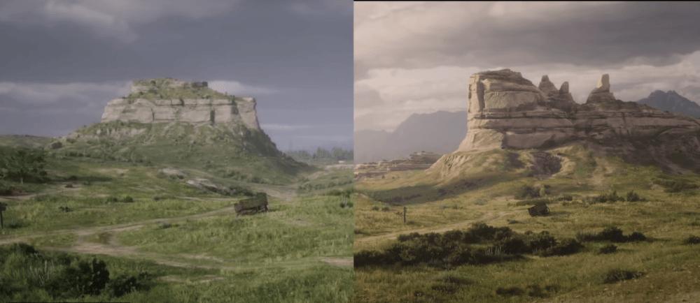 Наглядное сравнение графики Red Dead Redemption 2 для PC и для консолей