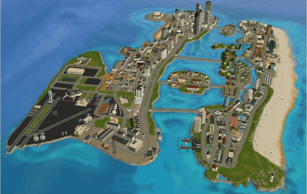 Говорят, что события GTA VI будут развиваться в Вайс-Сити