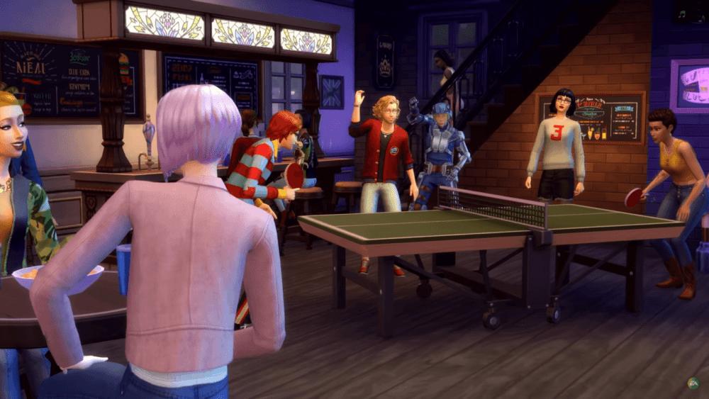 В студенческую общагу с новым дополнением The Sims 4