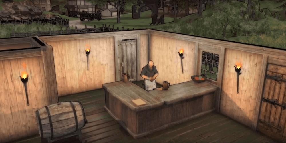 Релизный трейлер симулятора таверны Crossroads Inn
