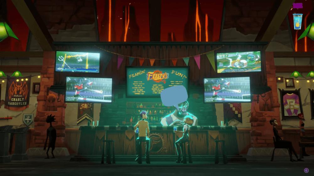 Геймплей и оценки Afterparty - алкогольной вечеринки в аду