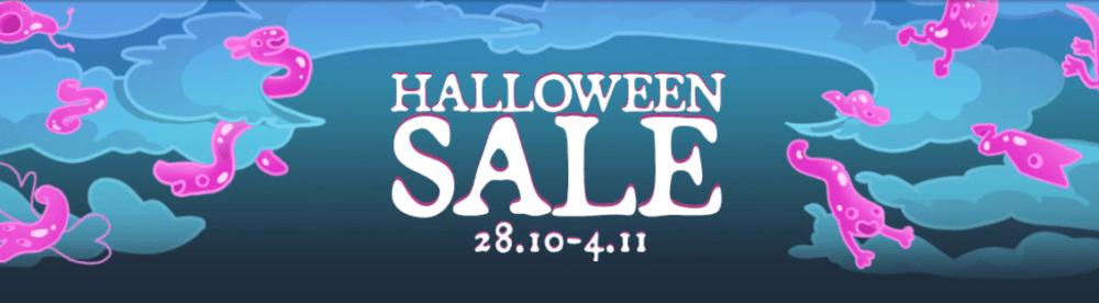 GOG продает игры со скидками - Хэллоуинская распродажа