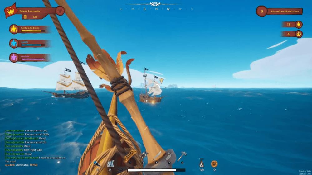 Трейлер пиратского баттл-рояля Blazing Sails