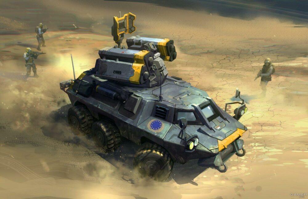 EA выпустила геймплейный тизер Command & Conquer + игра в 4К