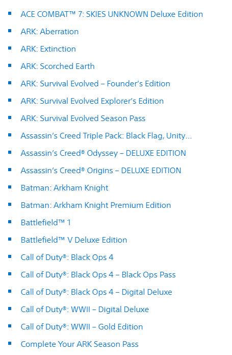 """""""Игры поколения"""" - распродажа в PS Store"""