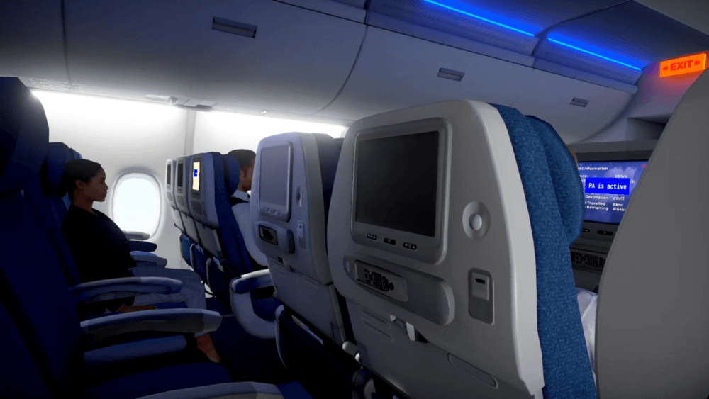 Трейлер симулятора полетов на самолете Airplane Mode