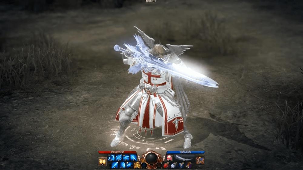 Видео нового персонажа Lost Ark - Holy Knight