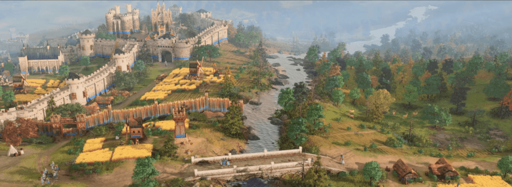 Видео работы над Age of Empires 4