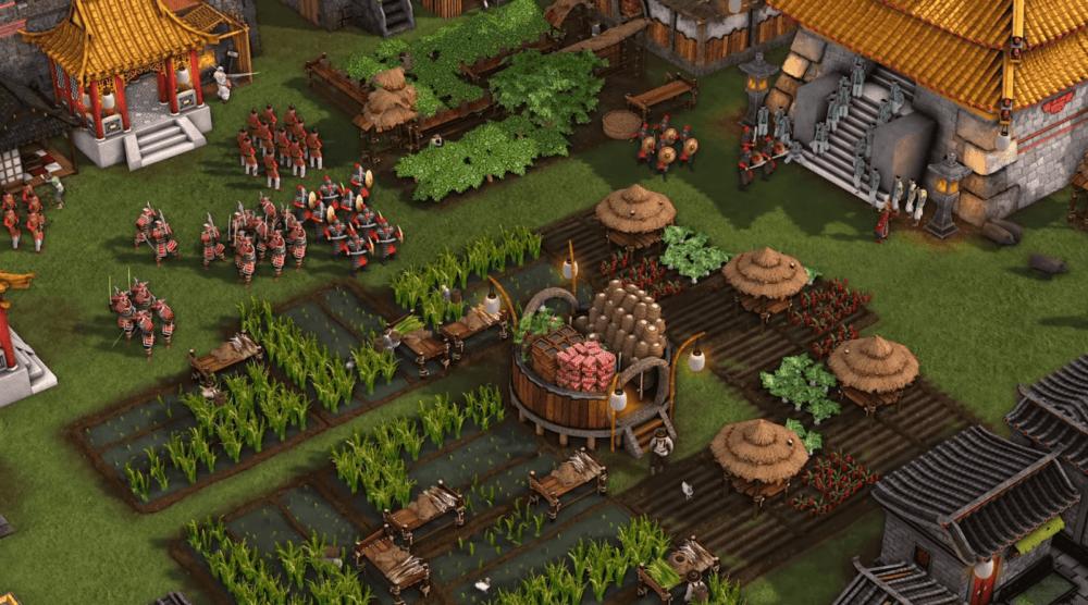 Строительство базы в свежем геймплее Stronghold: Warlords