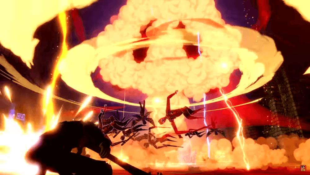 Череп, в новом трейлере Persona 5 Scramble: The Phantom Strikers
