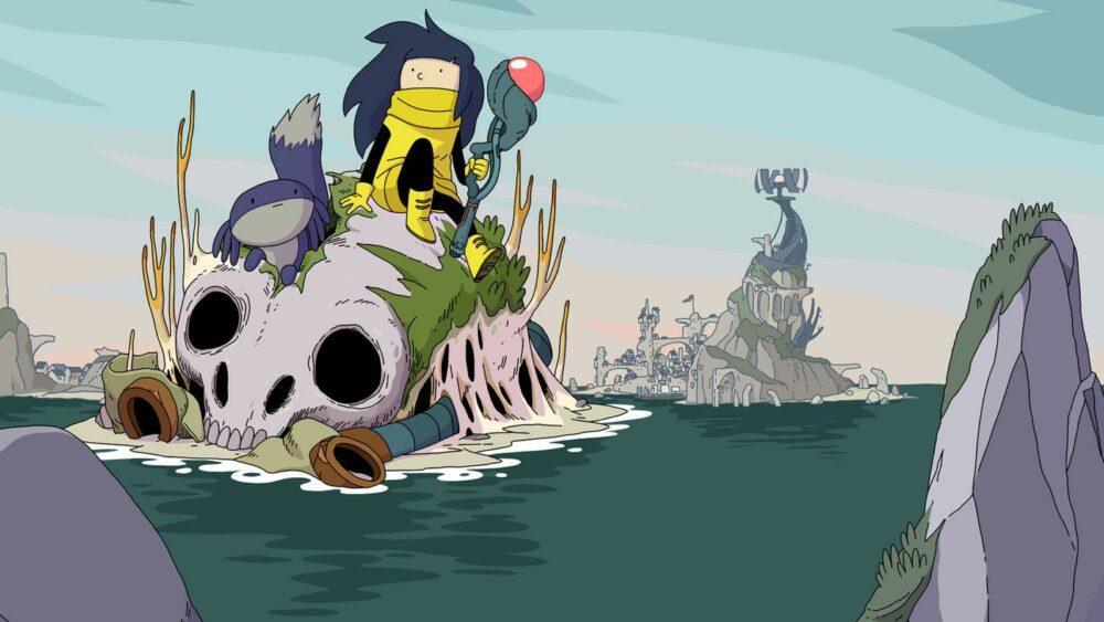 Геймплей адвенчуры Minute Of Islands