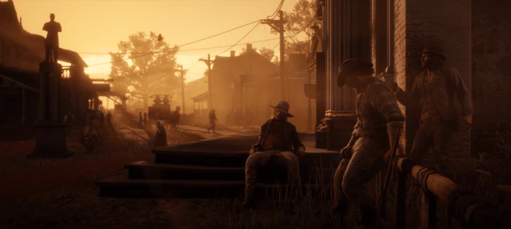 Вылеты Red Dead Redemption 2 правят