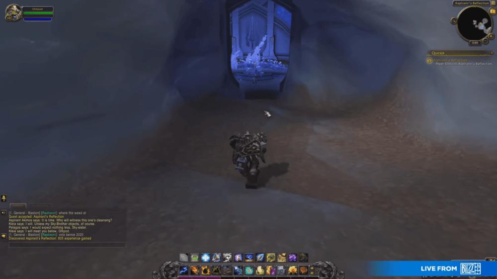 Куча геймплея World of Warcraft: Shadowlands