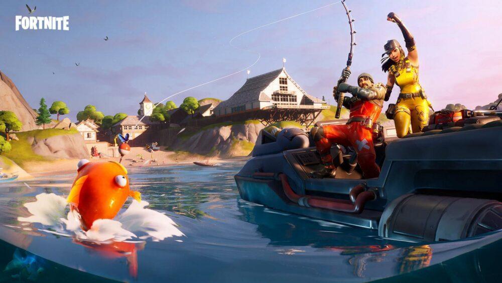 Рыболовный турнир по Fortnite