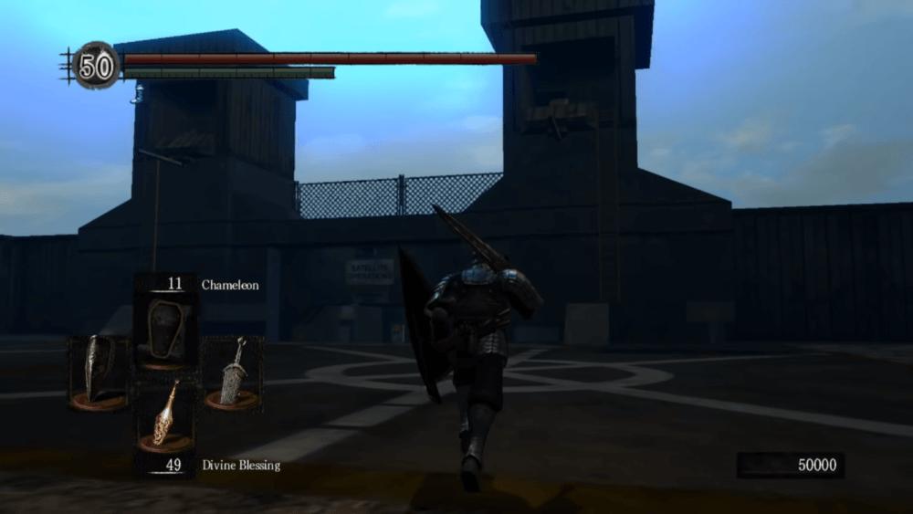 Карта из Half-Life появилась в Dark Souls
