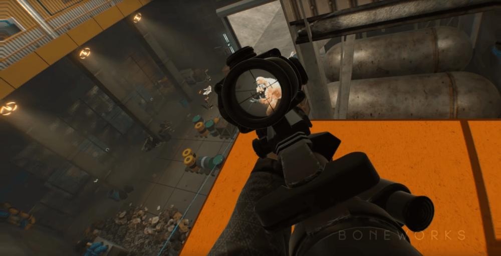 VR-шутер BONEWORKS, вдохновленный Half-Life выйдет в декабре